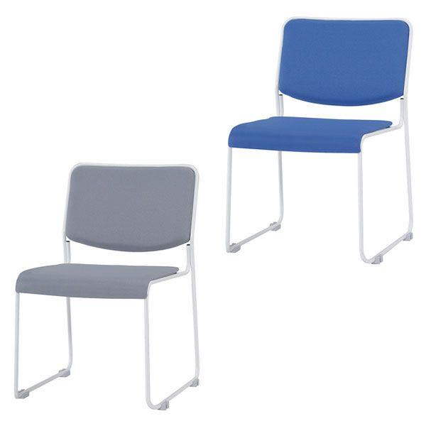 ミーティングチェア スタッキングチェア 肘無し 会議用 チェア 椅子 会議用チェア(代引不可)【送料無料】