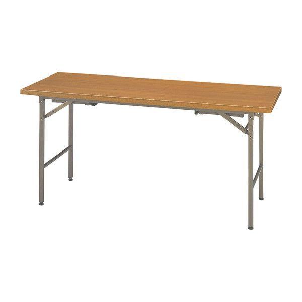 会議用テーブル ミーティングテーブル 2WAY 180×45cm ハイタイプ ロータイプ 会議テーブル 折りたたみテーブル(代引不可)【送料無料】