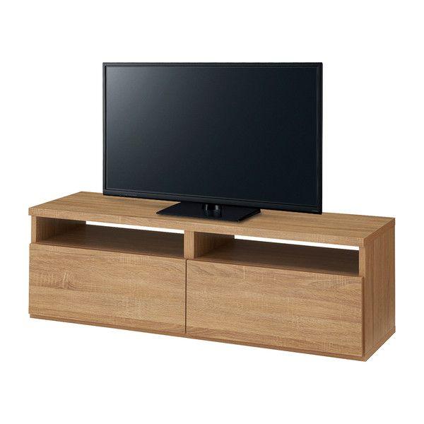 木製 テレビ台 1200 プールス 完成品 幅120cm RG TVボード1200 テレビボード テレビ 台(代引不可)【送料無料】【int_d11】