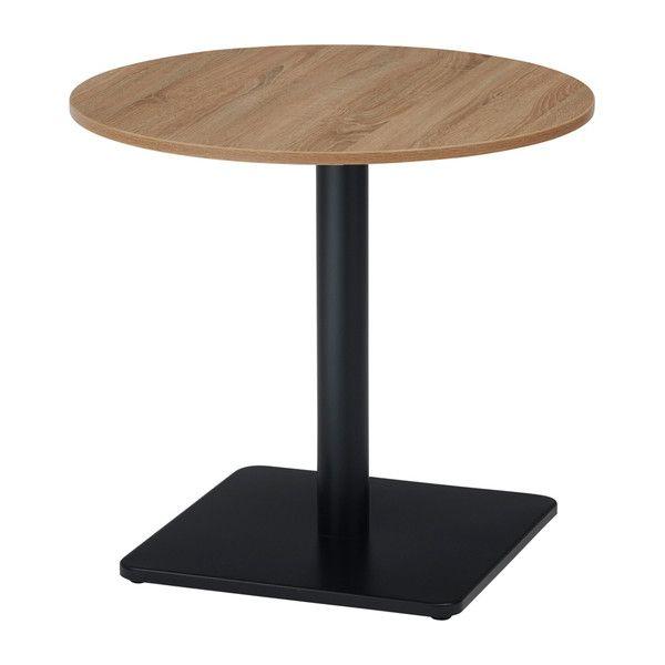 古木柄 カフェテーブル 7575R 丸型 75×75cm RGカフェテーブル テーブル 机 カフェ(代引不可)【送料無料】【int_d11】