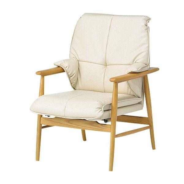 リクライニングチェア コルテーゼ リクライニングタイプ チェア 椅子(代引不可)【送料無料】【int_d11】