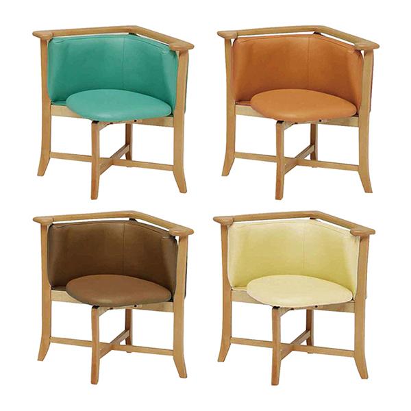 回転チェア ロコ 座面だけが回転するアームチェア チェア 椅子(代引不可)【送料無料】【int_d11】