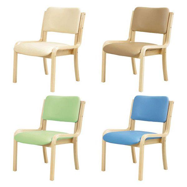 木製チェア モナ シンプルチェア 肘無しチェア 椅子 チェア 肘なし(代引不可)【送料無料】