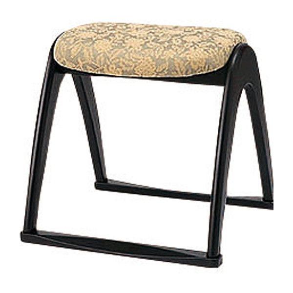 高座椅子 和室用木製椅子 背無し 座面高40cm 和室用 座椅子 背もたれ無し 和室家具 和室用座椅子(代引不可)【送料無料】