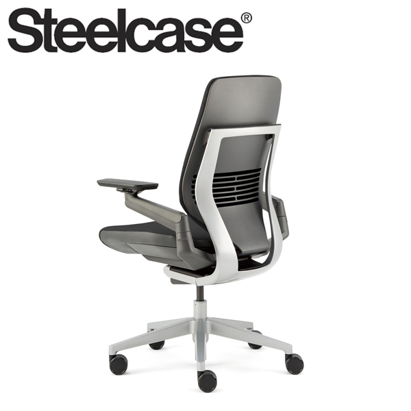 【Steelcase】 スチールケース ジェスチャーチェア シェルバック ダーク/ライト リコリス 5S26 デスクチェア(代引不可)【送料無料】