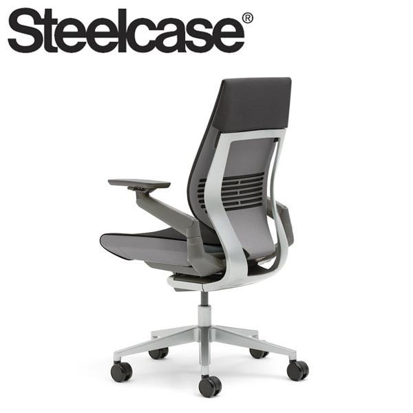 【Steelcase】 スチールケース ジェスチャーチェア ラップバック ダーク/ライト リコリス 5S26 デスクチェア(代引不可)【送料無料】