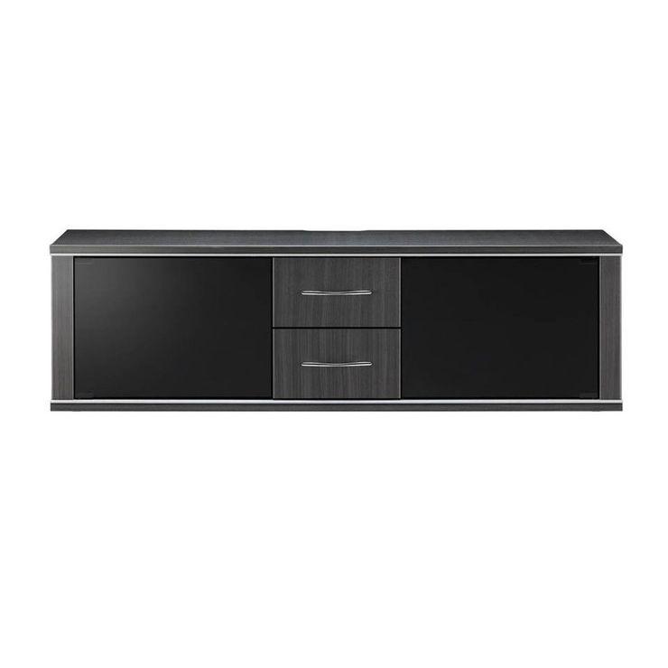 テレビ台 幅130cm 高さ39cm 強化ガラス モダン テレビボード TVボード 収納 収納ボード シンプル(代引不可)【送料無料】