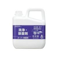 サラヤ スーパー除菌剤 5kg×3本 31828【inte_D1806】【送料無料】