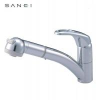 三栄水栓 SANEI シングルワンホールスプレー混合栓 寒冷地用 K8760JK-C-13C【送料無料】