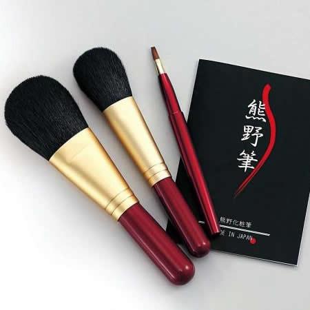Kfi-80R 熊野化粧筆セット 筆の心【送料無料】