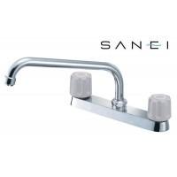 三栄水栓 SANEI ツーバルブ台付混合栓 K611-LH-13【送料無料】