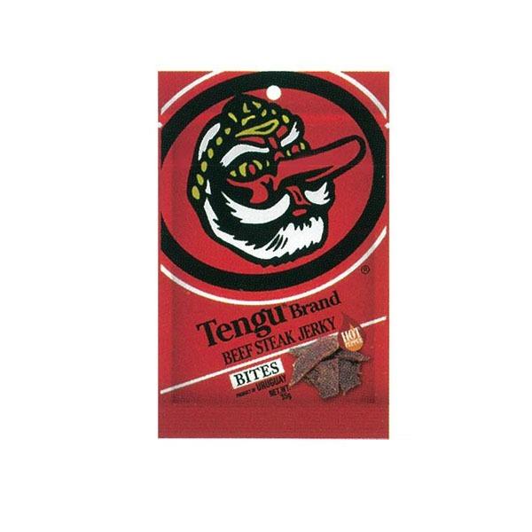 オーバーのアイテム取扱☆ 注目ブランド 送料無料 圧倒的な人気を誇る テング のビーフステーキジャーキー 2800022 ビーフステーキジャーキー ホット バイツ 代引き不可 35g×24袋