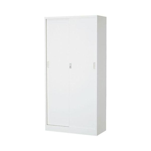 オフィス向け 一般書庫・ホワイト 3×6型引違書庫 1号鉄戸 COM-603D-W(代引き不可)【送料無料】