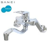 三栄水栓 SANEI キッチン用(壁付) シングル混合栓 寒冷地仕様 K1712EAK-13【送料無料】