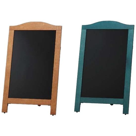 光 (HIKARI) マーカー用スタンド黒板片面 茶枠・YKBD103-1(代引き不可)【送料無料】【S1】