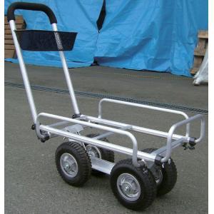 A2G アルミハウスカー(グリップ・カゴ付)(代引き不可)【送料無料】【int_d11】