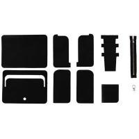 クラフト社 Leather Workshop Series ミドルウォレット (黒) 34170-02(代引き不可)【送料無料】