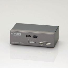 パソコン切替器KVM-NVU2 エレコム(代引き不可)【int_d11】