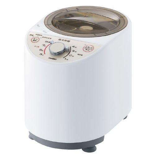 ツインバード コンパクト精米器 精米御膳 ホワイト MR-E500W【送料無料】【S1】