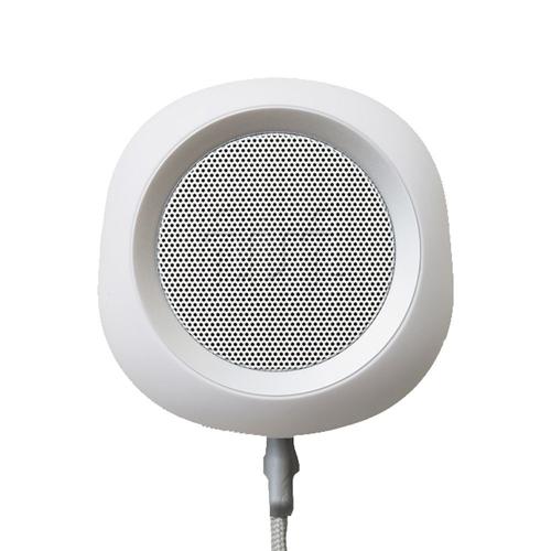 iui audio ウーファー搭載ポータブルスピーカー BeYo(ビーヨ) ホワイト×シルバー TR-4265/WHSV【送料無料】