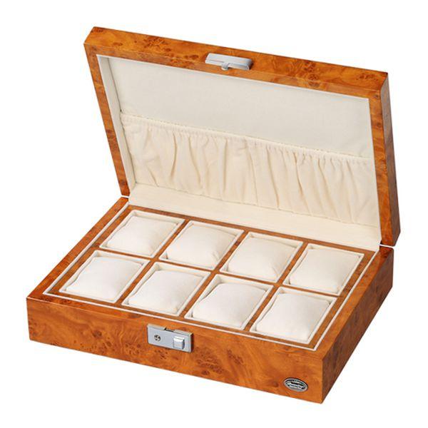 ローテンシュラガー 木製時計8本収納ケース LU51010RW【送料無料】