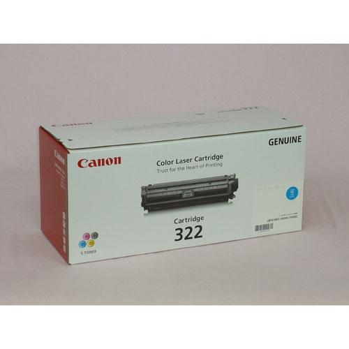 CANON トナーカートリッジ322 シアン 輸入品 CN-EP322CYJY【ポイント10倍】【送料無料】