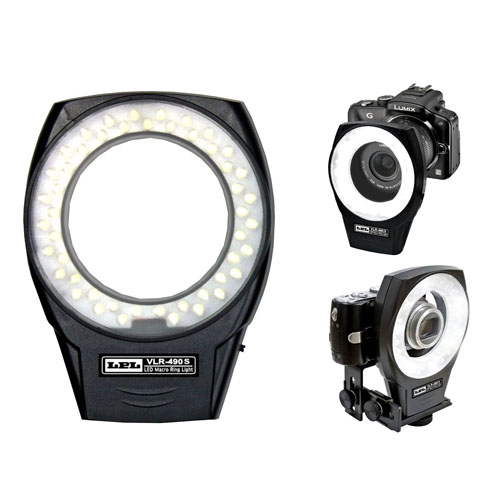 LPL LEDマクロリングライトVLR-490S L26852【送料無料】