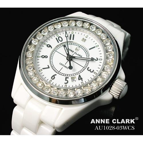 ANNE CLARK フルセラミック レディースウォッチ AU1028.03WCS【送料無料】