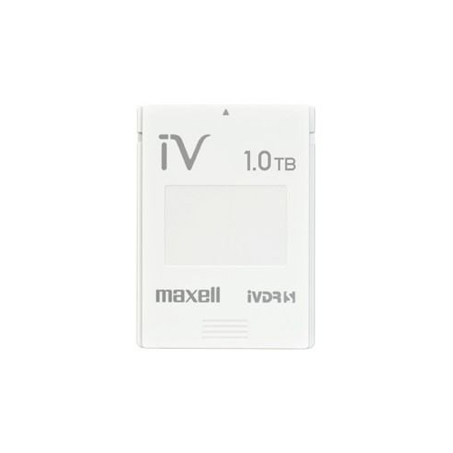 maxell カセットHDD iV(アイヴィ)カラーシリーズ 1TB ホワイト M-VDRS1T.E.WH パソコン ストレージ maxell【送料無料】【int_d11】