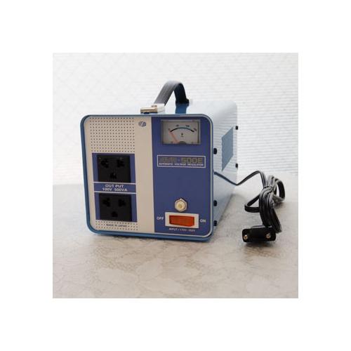 スワロー電機 受注生産のため納期約2週間電圧安定装置170~260V→100V 500W AVR-500E