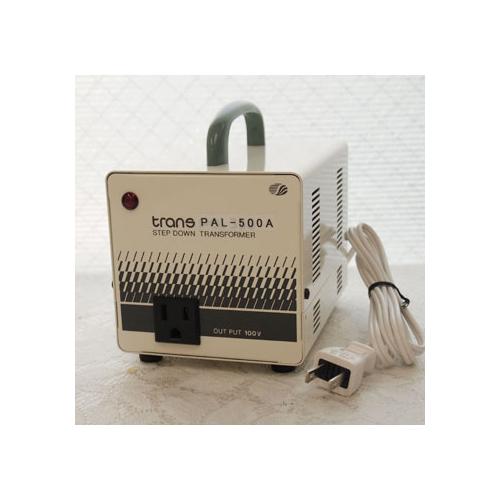 スワロー電機 受注生産のため納期約2週間ダウントランス 120V→100V / 500W PAL-500A