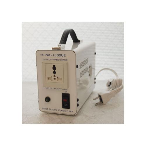 スワロー電機 受注生産のため納期約2週間アップトランス 100V→220・230V 1500W PAL-1500UE