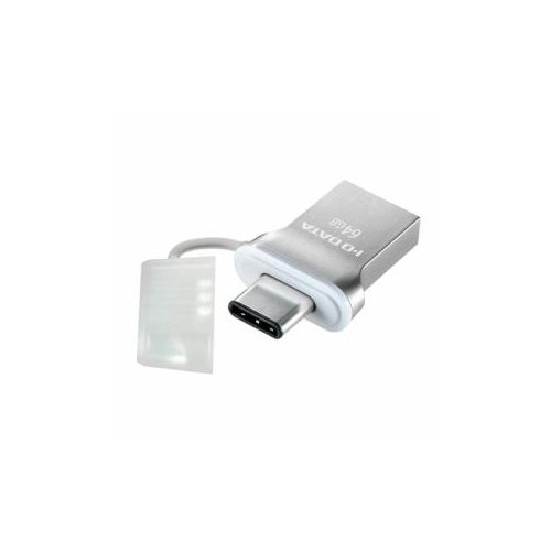 IOデータ USB 3.1 Gen1 Type-C⇔Type-A 両コネクター搭載USBメモリー 64GB U3C-HP64G パソコン フラッシュメモリー IOデータ【送料無料】【int_d11】