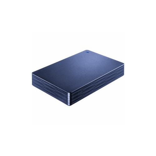 IOデータ HDPH-UT2DNV USB 3.0/2.0対応ポータブルハードディスク「カクうす 波(なみ)」 ミレニアム群青 2TB ストレージ IOデータ【送料無料】【int_d11】