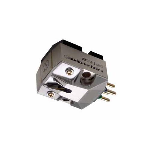 Audio-Technica オーディオテクニカ MC型(デュアルムービングコイル)ステレオカートリッジ AT33Sa 家電【送料無料】