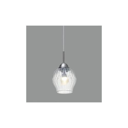 アイリスオーヤマ ガラス製LEDペンダントライト E17 540lm Plooi(プローイ) PL5LE17PL 家電 照明器具 その他の照明器具【送料無料】