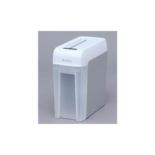 アイリスオーヤマ シュレッダー CDカット付き ホワイト/グレー KP5HCS 家電 生活家電 シュレッダー【送料無料】【int_d11】