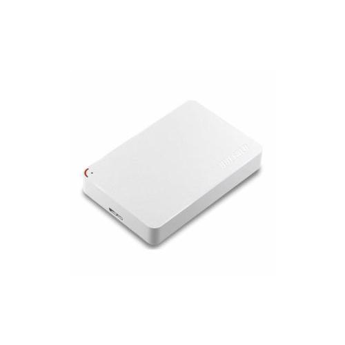 バッファロー HD-PCF2.0U3-GWE ミニステーション ターボPC EX2 Plus対応 USB3.1(Gen1)/USB3.0用ポータブルHDD ホワイト【送料無料】【int_d11】