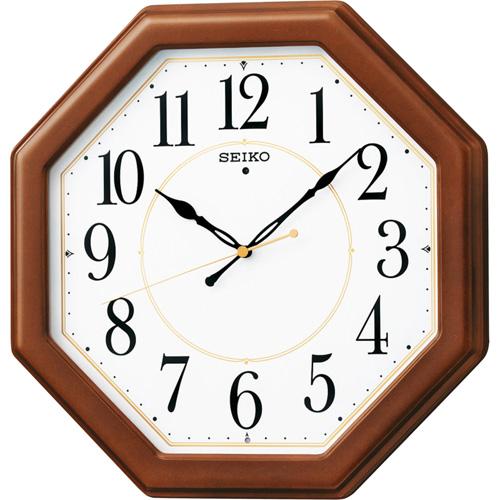 セイコー 電波木枠掛時計 C8060067 C8060067 雑貨・ホビー・インテリア ノーブランド【int_d11】