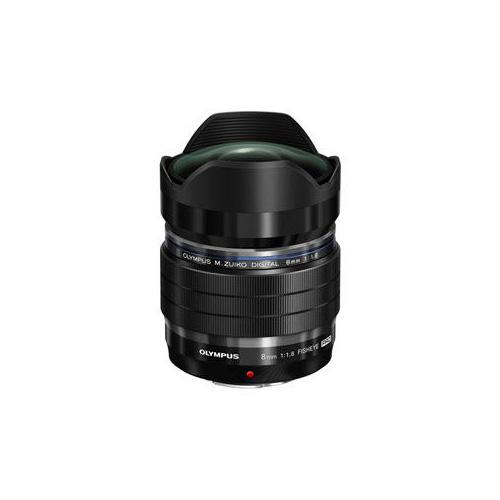 OLYMPUS 交換用レンズ M.ZUIKO DIGITAL ED 8mm F1.8 Fisheye PRO ブラック EFM0818PRO EFM0818PRO カメラ OLYMPUS【送料無料】