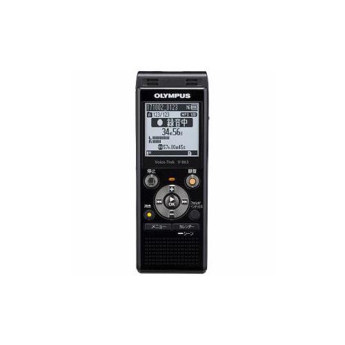 OLYMPUS V-863-BLK ICレコーダー 「Voice-Trek」 ブラック V-863 V-863BLK 家電 OLYMPUS【送料無料】