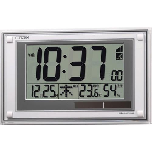 シチズン ソーラー電源式電波時計 C8059119 C8059119 雑貨・ホビー・インテリア ノーブランド【送料無料】