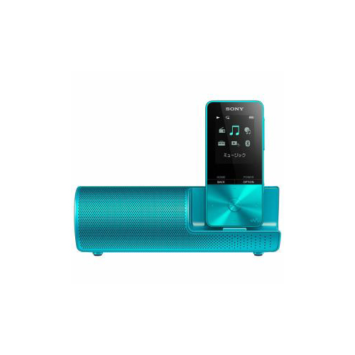 ソニー NW-S315K-L ウォークマン Sシリーズ[メモリータイプ] 16GB スピーカー付属 ブルー(代引不可)【送料無料】