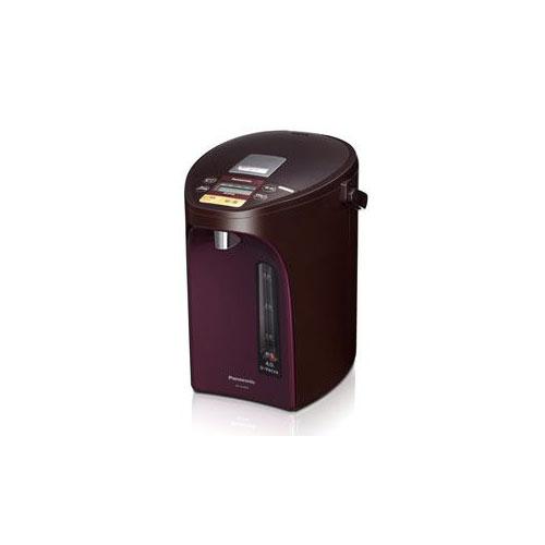 Panasonic 電動給湯式電気ポット (4.0L) ブラウン NC-SU404-T(代引不可)【送料無料】