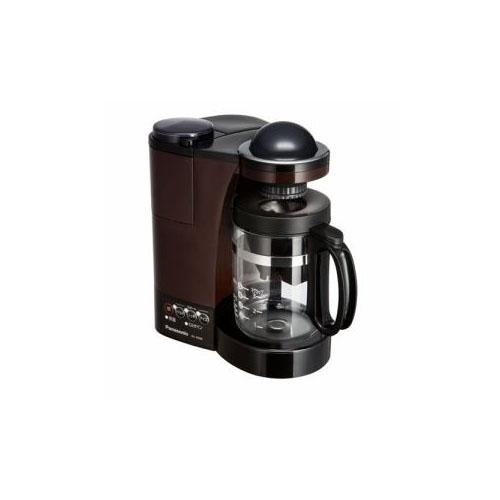 Panasonic ミル付き浄水コーヒーメーカー ブラウン NC-R500-T(代引不可)【送料無料】