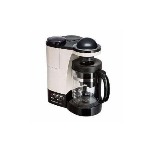 Panasonic ミル付き浄水コーヒーメーカー カフェオレ NC-R400-C(代引不可)【送料無料】
