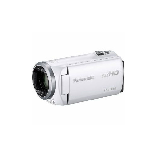 Panasonic デジタルハイビジョンビデオカメラ ホワイト HC-V480MS-W(代引不可)【送料無料】