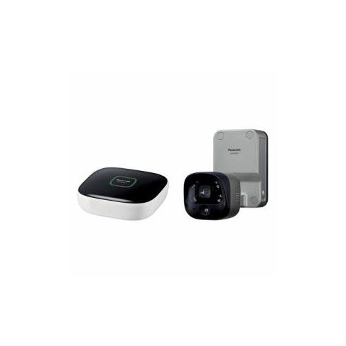 Panasonic 屋内カメラキット(ホームユニット+屋外バッテリーカメラ) KX-HC300SK-H(代引不可)【送料無料】