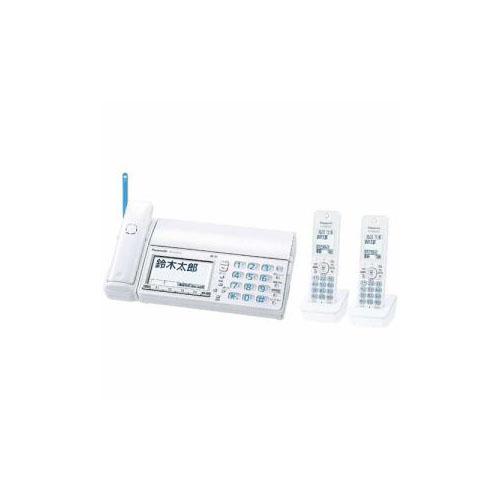 Panasonic デジタルコードレス普通紙FAX 「おたっくす」 (子機2台付き) ホワイト KX-PZ710DW-W(代引不可)【送料無料】