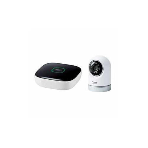 Panasonic 屋内スイングカメラキット(ホームユニット+屋内スイングカメラ) KX-HC600K-W(代引不可)【送料無料】